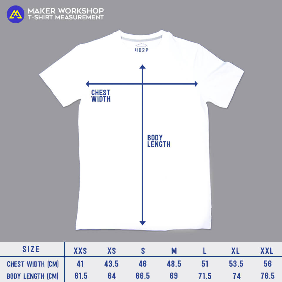maker workshop t-shirt size hart