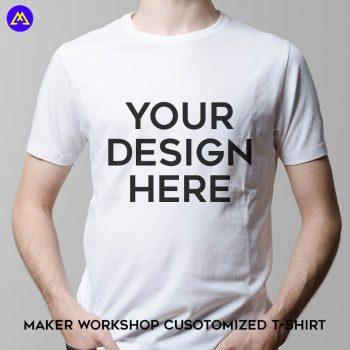 maker workshop customized t-shirt