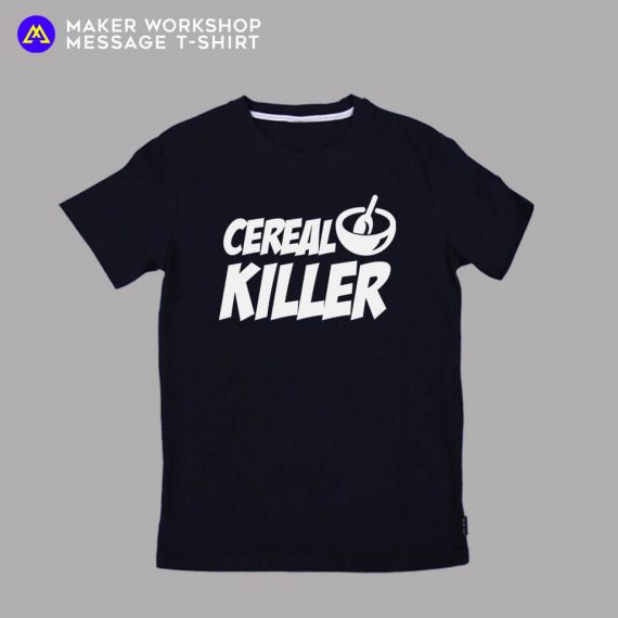 Cereal Killer Message T-Shirt
