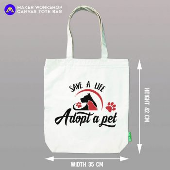 Adopt a Pet Tote Bag