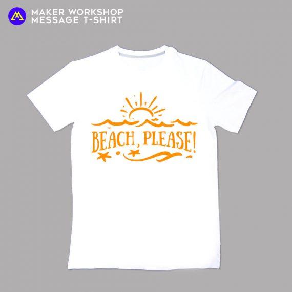 beach please tee