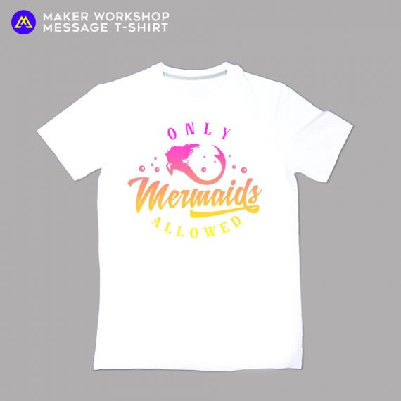 only mermaid allowed