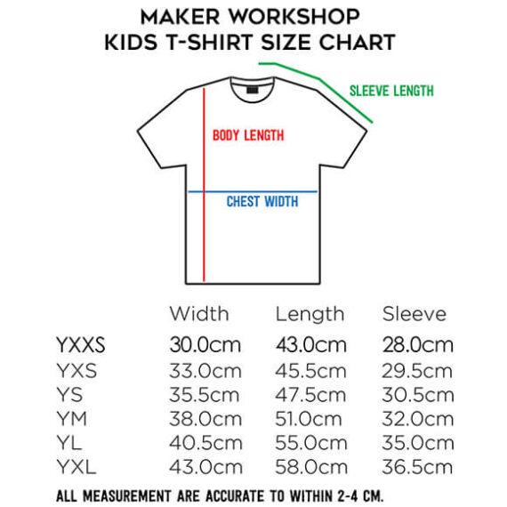 MAKER-WORKSHOP-CUSTOMIZED-KID-T-SHIRT-SIZE-CHART