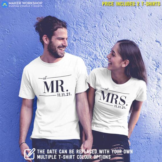 Mr & Mrs Couple T-Shirts