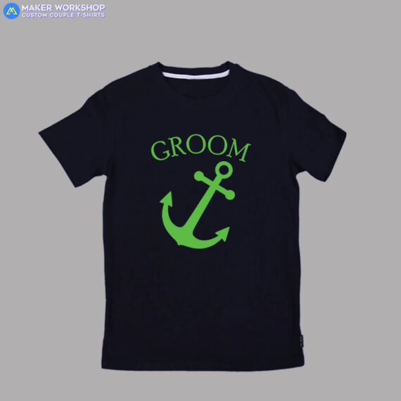 Maker-Workshop-Customized-T-SHIRT-Anchor-Rudder