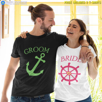 Anchor & Rudder Couple T-Shirts