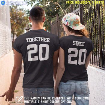 Together Since Couple T-Shirts